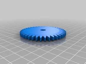 My Customized Basic  Gear - true diameter
