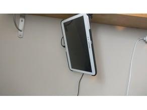 Permanent tablet mount