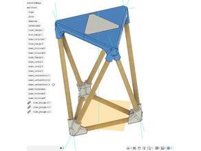 Octahedron stool