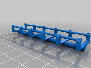 Vekoma Style Straight Track 1.75mm Rail