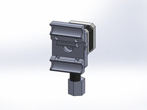 extruder carrier for One-UP printer