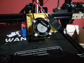 Tronxy x3a Fan and Level holder