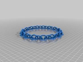 32 Link Large and Medium Half Circle Chain