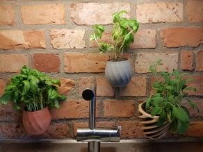 wallmounted flowerpot
