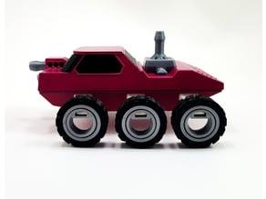 Lunar Patrol -  6 Wheel Rover