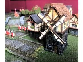 Fantasy Wargames Windmill / Building 15mm
