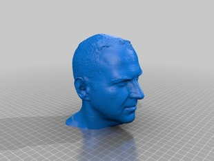Cory Doctorow's head (printable)