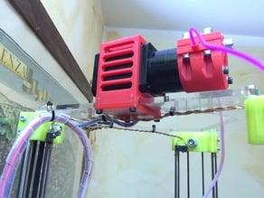 nema 17 extruder holder for rostock mini pro
