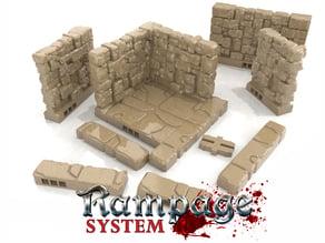 Rampage Dungeon Tiles - Basic Set