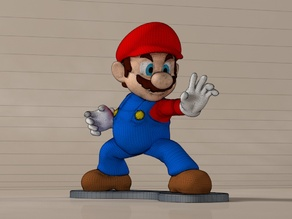 High-Res Super Mario