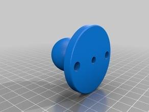 """Garmin Striker Ram mount (1"""" diameter ball joint) w/o support"""