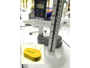 Rule - Height Gauge - base