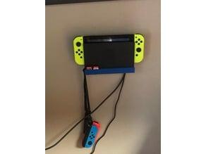 Nintendo Switch Wall Mount with Joy-Con Knob