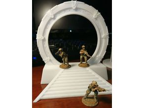 28mm Stargate (1/55 scale) (Remixed from wtgibson)