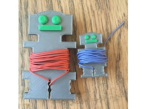 Robot Bobbins for wire or thread