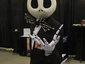 Full Head Jack Skellington