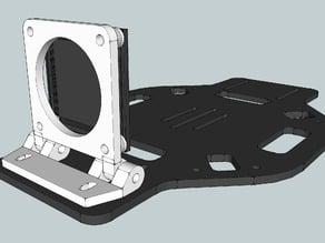 Super Simple Board Camera Mount for DJI F450 / F550