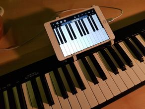 Nektar midi keyboard ipad 4 mini mount