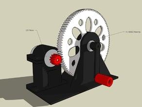 Mini 5v Generator Using 12v Printer Motor