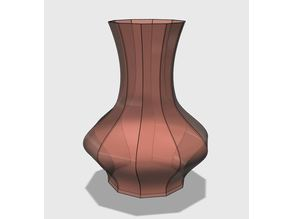 Vase 10-sided