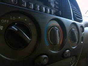 Toyota AC knob