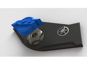 Yamaha Steering stem nut cap