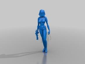 Female Storm Trooper Remix Revision 2