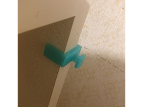 Shelf Hook (16mm) - 2in1 - Horizontal and Vertical position