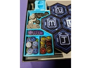 Renegade Boardgame Box Inserts - Remixed for Sleeved Cards