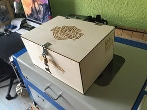 "Box for ""wooden V2 engine lamp"""