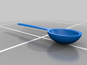 A spoon