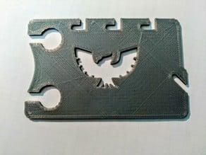 Business Card Earbud wrap Captain Falcon
