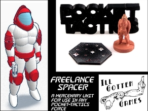 Pocket-Tactics: Freelance Spacer (Second Edition)