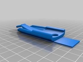 Garmin Inreach Back Clip - Flat for Velcro