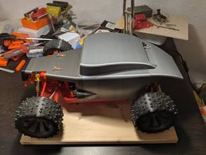 Open RC truggy HOT ROD body (for testing!)
