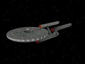 Star Trek - Original Series - Enterprise Model (Rough)