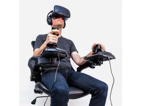 Elite Dangerous / Flight Sim Cockpit - Joystick Chair Mounts