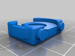 UP Mini Extruder filament guide mod