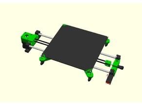 Y axis for DIY 3D printer V1.2