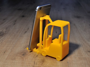 Forklift Phone Stand