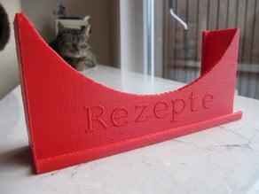 Rezepte-Box (Recipe box) for A6 cards