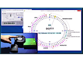 DCF77 experimental transmitter
