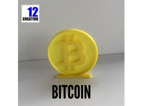 Bitcoin Coin Cryto Currency Stand