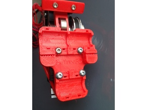 X-Carriage for Direct Belted Extruder V2