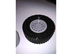 RC 1/10 Trophy Truck Wheel