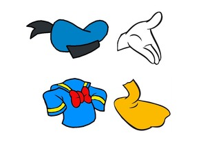 Donald Duck Cookie Cutter Set