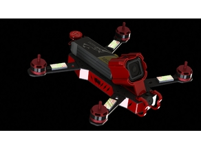 ZMR lapiece3D low racer UNI-SPACER FPV