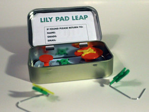 Lily Pad Leap: An Altoid Tin Game