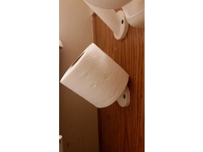 Toilet Paper Wall Peg (Standard 10cm)