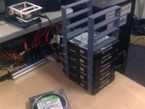 "4x 3.5"" Hard Disk Stackable Stacker"
